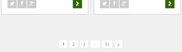 Pagination on the Beanstalk site.